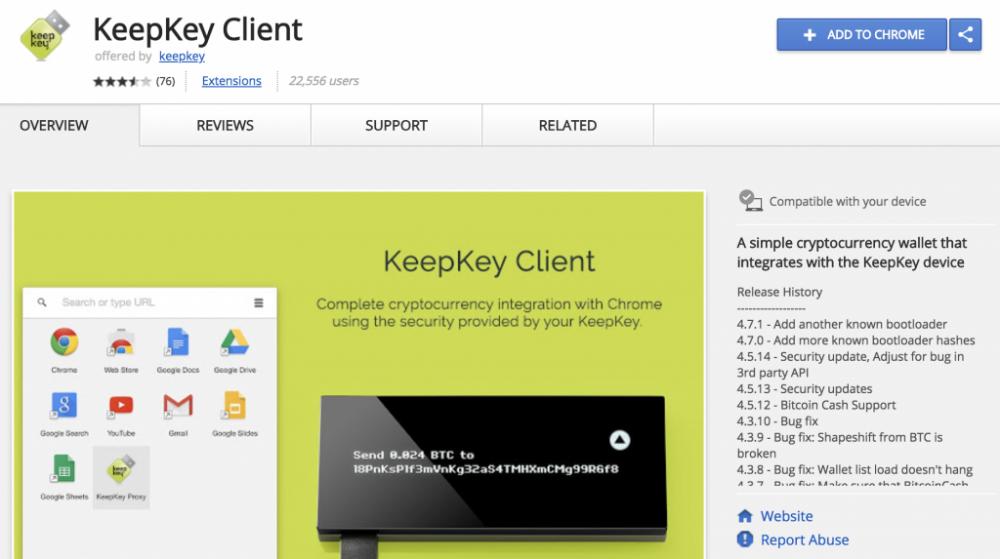 Разработчики запустили собственное расширение для Google Chrome