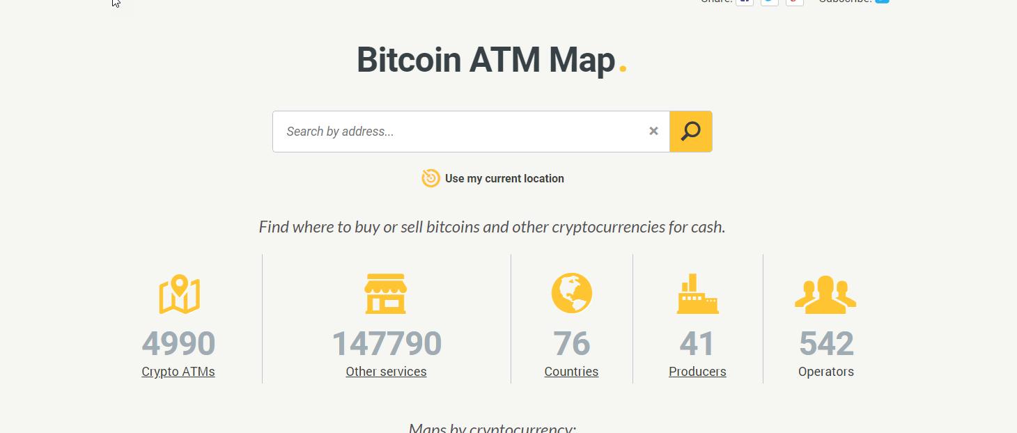 С момента появления первого ATM прошло всего шесть лет, но уже сегодня насчитывается 5000 криптоматов по всему миру